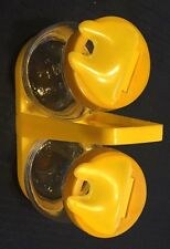 Vintage Hazel Atlas Condiment Set Yellow