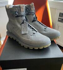 New! ECCO Exostrike Men's 45 11-11.5 Dyneema Leather Wild Dove Grey Boot. Shoe