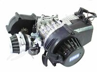 HMParts Pocket Bike Dirt Bike Motor mit Sportgetriebe 49 ccm 1A