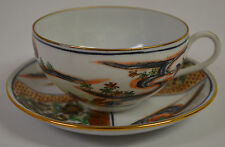 Japanese Porcelain imari ware ACF Cup and Saucer