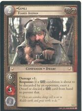 Lord Of The Rings CCG Card RotK 7.R7 Gimli, Feared Axeman