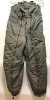 Vintage USAF Air Force Flying Trousers Type D-18 Size 34 Sage Green Suspenders
