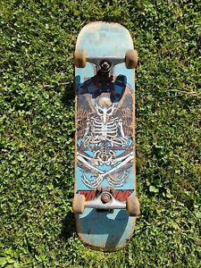 birdhouse skateboard tony hawk birdman deck vintage powell santa cruz Damaged
