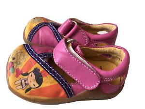 EUC Livie & Luca Shoes Pink Harajuku HTF! Toddler 4