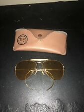 Vintage Ray Ban Outdoorsman Ambermatic B&L 58mm