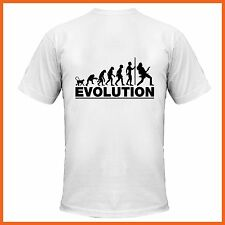 T-Shirt - X Large - NEW DESIGN - Great Gift - Cool Evolution Guitar Shirt