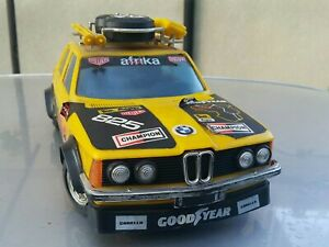 VINTAGE CAR TOY BMW 7 AFRIKA LARGE ITEM REMOTE CONTROLED MADE IN ITALY FOR PARTS