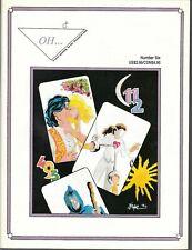 OH...#6 1994 INLAND B&W 'MEGALOMANIAC'S CORNER' -LAVENDER LADIES-KENNEDY...VF+