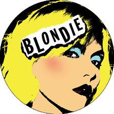 CHAPA/BADGE BLONDIE . johnny thunders ramones punk dead boys cbgb debbie harry