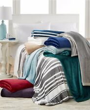 Berkshire King Blanket Classic Velvety Plush Chateau Grey T93076