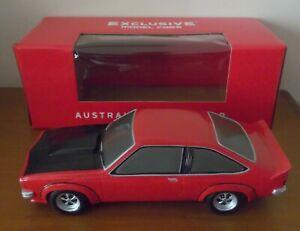 Holden Torana SS A9X Hatch Resin 1/18 model Red