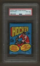 1976-77 Bryan Trottier Rookie Wax Pack Hockey O-Pee-Chee PSA 8 Condition 179.99$