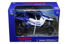 NEWRAY 1:18 YAMAHA YXZ 1000R TRIPLE-CYLINDER MOTORCYCLES 57813A BLUE COLOR
