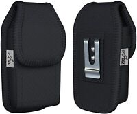AGOZ Carry Pouch Rugged Belt Clip Case Cell Phone Holster with Loop For Motorola