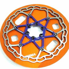 The Lightest ASHIMA AiNEON Disc Rotor, 180mm, 88g, Blue, Y64