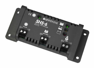 Morningstar SHS 6 Solar Controller 12V 6A