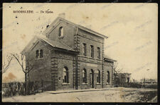Moorslede, De Statie, Bahnhof-1915-Feldpost-Res.Sanitäts-Kompanie 53-