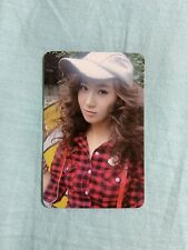 SNSD Girls Generation 2nd Album Oh! Official Yuri Photocard