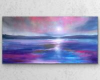 50x100cm X LARGE ORIGINAL Painting- Captivating Seascape Art By JENNIFER TAYLOR