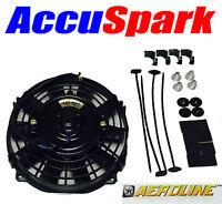 "AeroLine Electric car radiator cooling fan, Universal 7""  fitting kit"