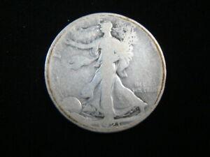 1921-S Liberty Walking Silver Half Dollar AG 160924
