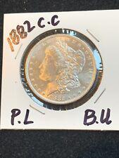 1882-CC Proof Like Morgan Silver Dollar Gem Choice BU
