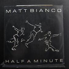 """Matt Bianco - Half A Minute 12"""" 45 RPM VG+ 249232-0 WEA UK 1984 Vinyl Record"""