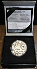2018 Silver One Ounce Commemorative Lion Dollar Restrike Netherlands Proof Coin