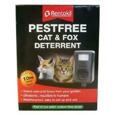 Rentokil Pestfree Ultrasonic Cat/ Fox Deterrent Harmless Garden Control Repeller