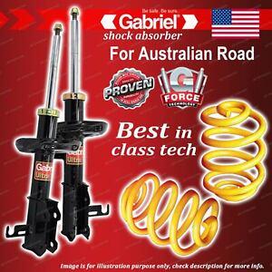 Front Gabriel Ultra Shocks + Lowered King Springs for Holden Cruze JG JH PETROL