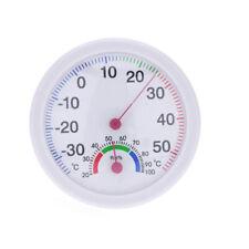 Wet Hygrometer Humidity Thermometer Temp/Temperature Meter For Indoor Outdoor UK