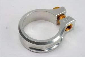 KCNC SC11 Screw Seatpost Clamp Silver 31.8mm