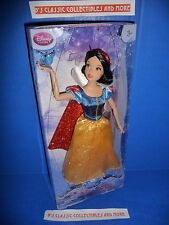 "Disney Store Snow White 12"" Doll Disney's Classic Collection W/ Bluebird Figure"