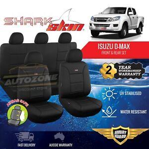 Neoprene Seat Covers for Isuzu D-Max Dmax Dual Cab 06/2012 - 06/2020 Sharkskin