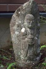 Japanese Antique Stone Buddhist Avalokitesvara lotus Doso-shin Buddhism SBD32