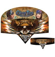 Sublmation Live the Legend Eagle Biker Bandanna Head Wrap Sweatband Headband