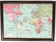 Mapa del mundo Bandeja de regazo cena con construido en Cojín Bean Bag Voyager
