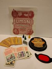Jumanji Board Game Replacement Parts Rhino Decoder Cards Pawns Instructions