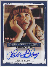 "2014 POP CENTURY SP AUTO: LINDA BLAIR #3/3 AUTOGRAPH""EXORCIST"" PLAYBOY PICTORIAL"
