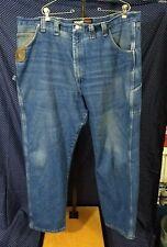 STAINED Wrangler Riggs Workwear 44x30 Men's Carpenter Denim Blue Jeans Straight