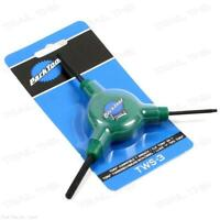 Park Tool TWS-3 - Green - Torx Compatible Bicycle 3-Way Wrench T10 T25 T30