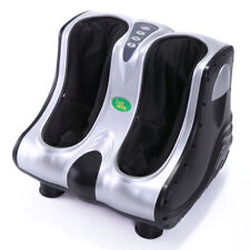Black Deluxe Leg, Foot, Calf, and Ankle Massager - Squeeze & Vibration New