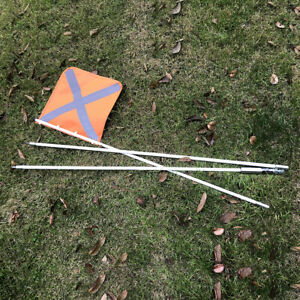RAYTEEN 3M Sand Safety Flag Sand Flag with Quick Connector for Simpson Desert