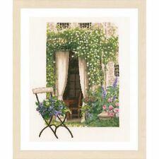 Lanarte 0178458  Fenêtre de jardin  Broderie  Point de croix compté