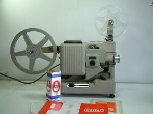 Eumig P8, 8 mm Automatic Film Projector, Manual and Cable - parts