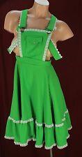 Rockmount Vtg Ranch Wear Overall Square Dancing Dress Size 27 Waist #D2158