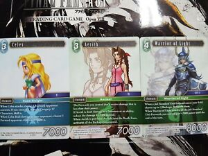 Final Fantasy TCG Opus VIII Rare, Hero & Legend  - YOU PICK FROM LIST!
