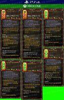 Diablo 3 - PS4 - Xbox One - Bundle 7x Modded Primal Items - Patch 2.6.9