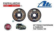 KIT FRENO POSTERIORE A TAMBURO FIAT PANDA 169 ATE FC180119