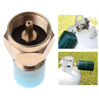 H3E# Propane Refill Adapter Lp Gas Cylinder Tank Coupler Heater Camping Hunt